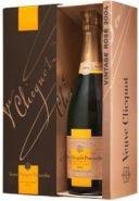 Шампанское Вдова Клико Винтаж Розовое 2004 брют подарочная упаковка 0,75 л