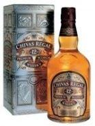 Виски Чивас Ригал 12 лет подарочная упаковка 0,5 л