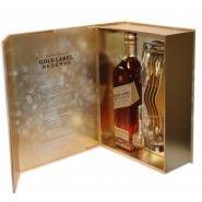 Виски Джонни Уокер Голд Лэйбл (зол.) 0.7 л Резерв + 2 стакана