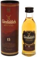 Виски Гленфиддик 15 лет туба 0.05 л