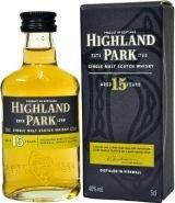 Виски Хайланд Парк 15 лет подарочная упаковка 0.05 л