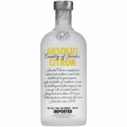 Водка Абсолют Цитрон (лимон) 0.7
