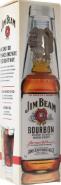 Виски (бурбон) Джим Бим 0.7 + стакан